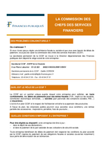 La commission des Chefs des Services Financiers CCSF