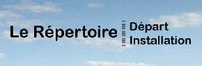 Répertoire Départ Installation